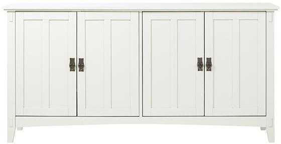 ARTISAN BUFFET - White - Home Depot