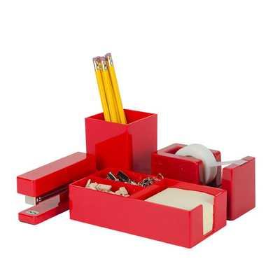 Red Brighten Up Gift Set - Successories