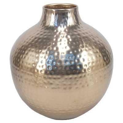 Vase Thrshd Metal - Target