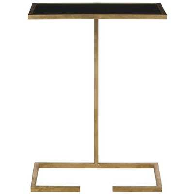 Safavieh Treasures Neil Gold/ Black Top Accent Table - Overstock
