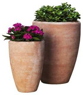 S/2 Abrielle Planter - One Kings Lane