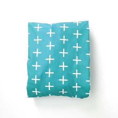 Crib Sheet Turquoise Skinny Plus - Etsy