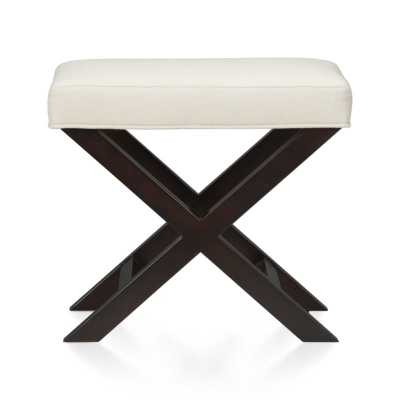 X-Base Bench-Vanity Stool - Crate and Barrel