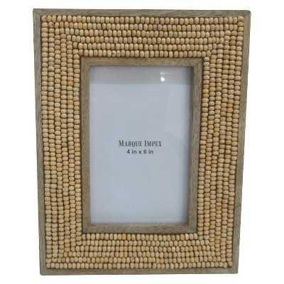 Beaded Wooden Frame - Target
