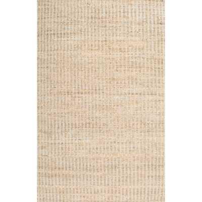 nuLOOM Natural Fiber Solid Handmade Jute/ Cotton Rug (8'6 x 11'6) - Overstock