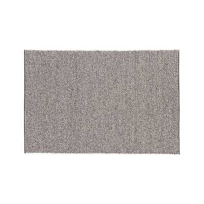 Ivan Natural Felted Wool 8'x10' Rug - Crate and Barrel