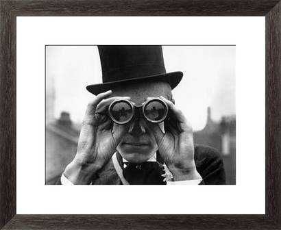 Derby Spectator - 26x22, Framed - Photos.com by Getty Images
