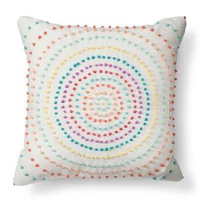 Texture Knot Circle Decorative Pillow - Target