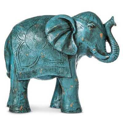 """Boho Boutiqueâ""""¢ Decorative Elephant - Turquoise - Target"""