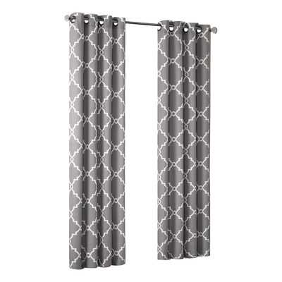 "Saratoga Single Curtain Panel - 84"" L x 50"" W - Wayfair"
