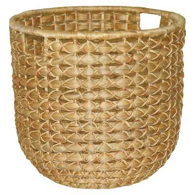 Lg Round Water Hyacinth Basket - Target