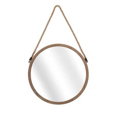 Rally Wood Mirror - Overstock