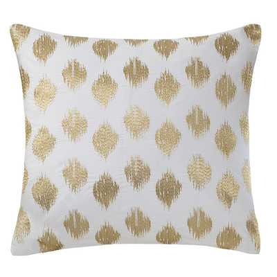 Nadia Dot Embroidered Cotton Throw Pillow - Wayfair