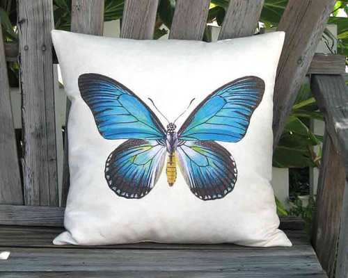 "Vibrant Pillow, 18""x18"", ivory canvas, insert included - Etsy"