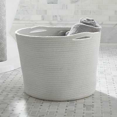 Large Cove Rope Basket - Crate and Barrel