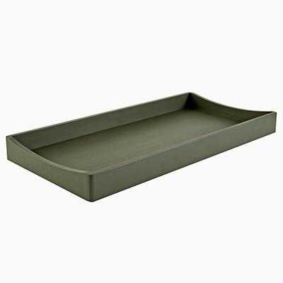 Hampshire Changing Table Topper - Olive - Land of Nod
