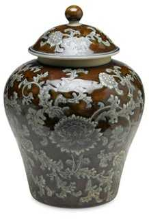 "14"" Florent Ginger Jar - One Kings Lane"
