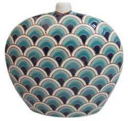 """11"""" Peacock Vase - One Kings Lane"""