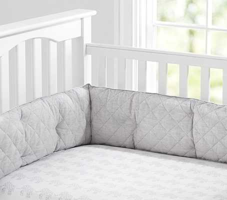 Elephant Crib Fitted Sheet - Pottery Barn Kids