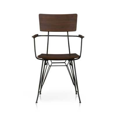 Elston Dining Arm Chair - Crate and Barrel