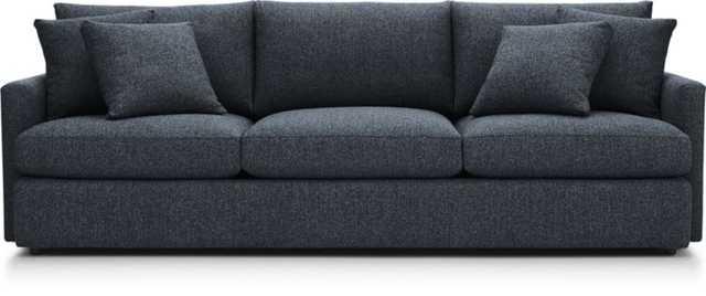 "Lounge II 3-Seat 105"" Grande Sofa - Crate and Barrel"