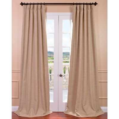"""EFF Ginger Bellino Blackout Curtain Panel - 50"""" x 96"""" - Overstock"""