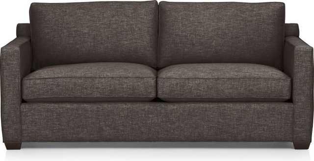 Davis Sofa- Graphite - Crate and Barrel