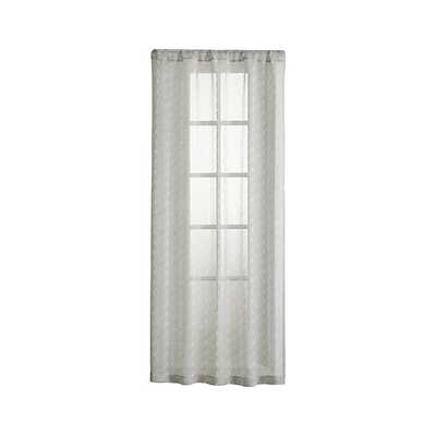 """Knots 48""""X108"""" Curtain Panel - Crate and Barrel"""