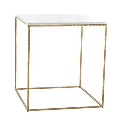 Gold Leaf Collection - Side Table - Wisteria