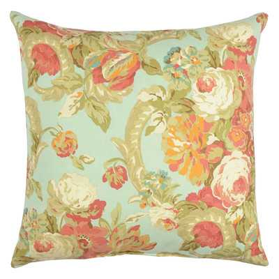 "Spring Bling Cotton Throw Pillow-Vapor-20""x20""-Insert - Wayfair"