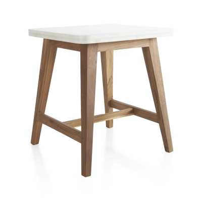 Cliff Square Side Table - Crate and Barrel
