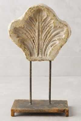 Inscribed Stone Objet - Leaf - Anthropologie