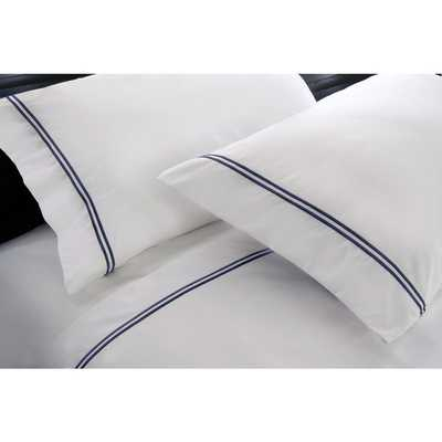 Elle 4-piece 1200 Thread Count Cotton-rich Embroidery Sheet Set - Overstock