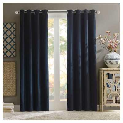 Annabelle 100% Cotton Velvet Curtain - Target