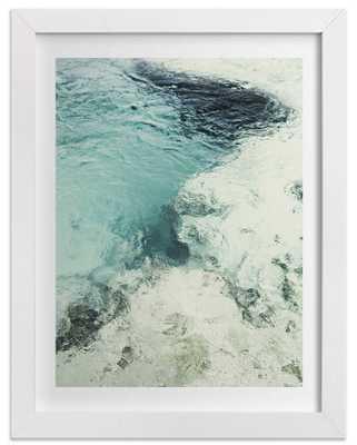 "Blue Monday - 18"" X 24"" - Framed - Domino"