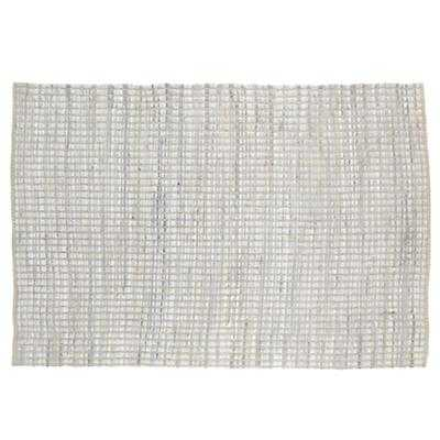 4 x 6' White Rags to Riches Rug - Land of Nod
