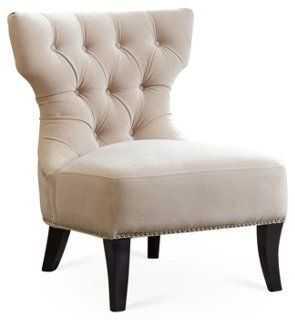 Emelie Tufted Slipper Chair - One Kings Lane