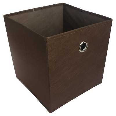 """Room Essentials Fabric Cube Storage Bin – Patterned - Assorted Colors(11"""") - Target"""