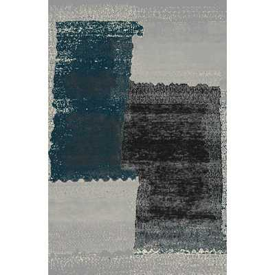 Fusion Turquoise/Silver Area Rug - AllModern