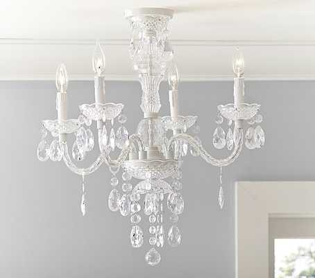 Bella Flushmount Chandelier - Pottery Barn Kids