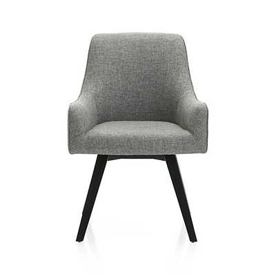 Harvey Chair Black - Crate and Barrel