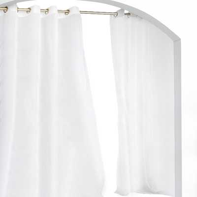 "Point Isabel Grommet Curtain Panel- 96"" H x 54"" W - Wayfair"