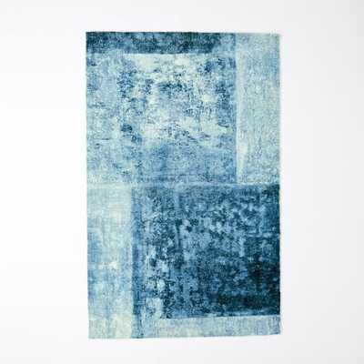 Distressed Rococo Wool Rug - 8'x10' - West Elm