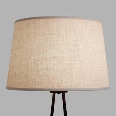 Burlap Floor Lamp Shade - World Market/Cost Plus