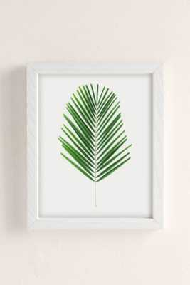 "Miles Of Light Palm Art Print - 13"" x 19"" - Framed - Urban Outfitters"