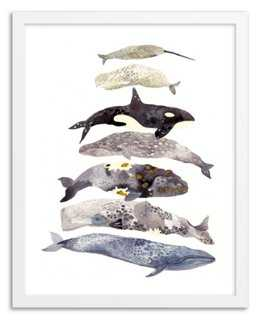 Michelle Morin, Seven Whales Stacked - One Kings Lane