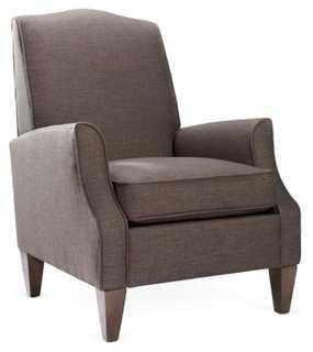 Savannah Club Chair, Gray - One Kings Lane