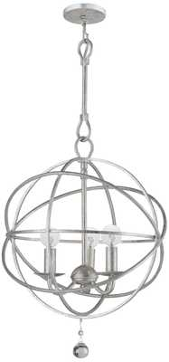 Solaris Collection 3-Light Modern Pendant Light - Lamps Plus