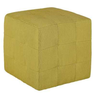 Braque Citron Cube Ottoman - Wayfair