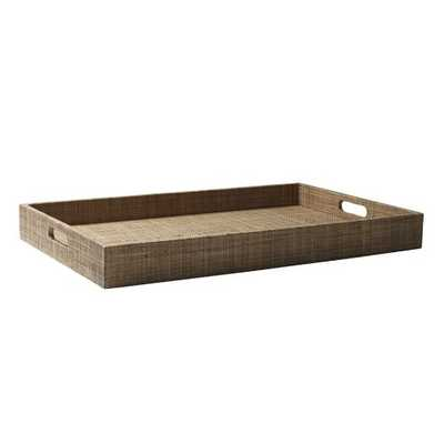 Large Rectangle Lacquer Trays - West Elm